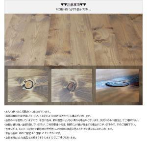 ダイニングテーブル 4人 鉄脚 アイアン 古材風 ヴィンテージ風 西海岸風 無垢材 140 国産 サイズオーダー GRテーブル|i-company|02