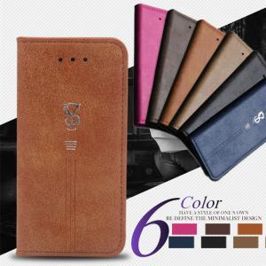 【在庫一掃セール】 iPhone6s ケース 手帳型 耐衝撃 レザー iPhone6 Plus iPhone SE 5 対応 スマホケース カード収納 スエード カバー|i-concept