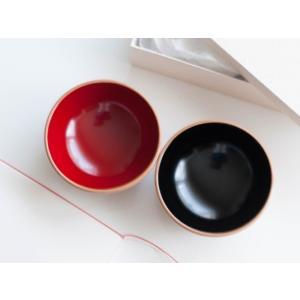 漆器 お椀 汁椀 漆 国産 日本製 プレゼント お祝い 食器 伝統工芸 結婚祝い 川連漆器 2色セット|i-crtshop