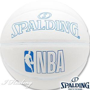 SPALDING INNOCENCE バスケットボール7号 イノセンス ホワイト 合成皮革 スポルディング76-270J|i-healing