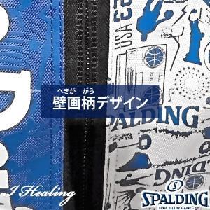 DUKE ケイジャー 壁画グラフィティ ブルー バスケットボール用バッグ デューク バックパック リュック スポルディング40-007DKG|i-healing|03