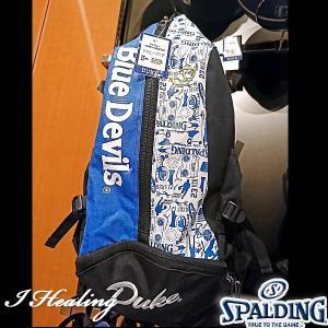 DUKE ケイジャー 壁画グラフィティ ブルー バスケットボール用バッグ デューク バックパック リュック スポルディング40-007DKG|i-healing|04
