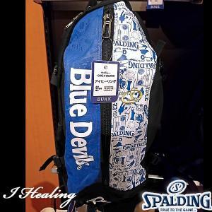 DUKE ケイジャー 壁画グラフィティ ブルー バスケットボール用バッグ デューク バックパック リュック スポルディング40-007DKG|i-healing|05