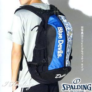 DUKE ケイジャー 壁画グラフィティ ブルー バスケットボール用バッグ デューク バックパック リュック スポルディング40-007DKG|i-healing|07