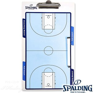 SPALDING コーチングボード バスケットボール作戦盤 マーカー付 スポルディング8391CN|i-healing