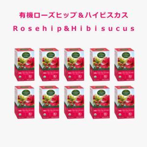 ローズヒップティ10個セット オーガニックハーブティ Garden of the Andes Rosehip tea i-healing