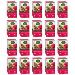 ローズヒップティ20個セット オーガニックハーブティ Garden of the Andes Rosehip tea i-healing