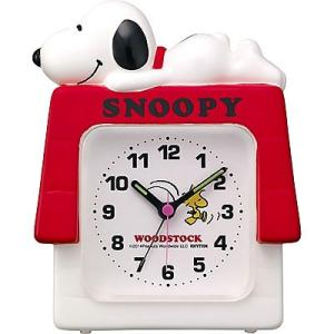 スヌーピー目覚まし時計