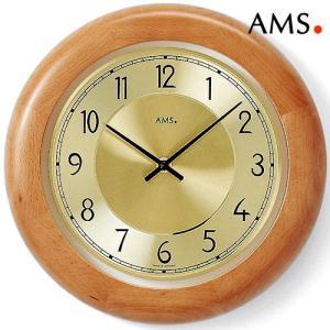 掛け時計AMS9063ブナ18 アムス社ドイツ製|i-healing