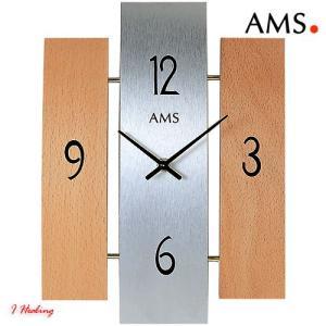 掛け時計AMS9034 アムス社ドイツ製 i-healing