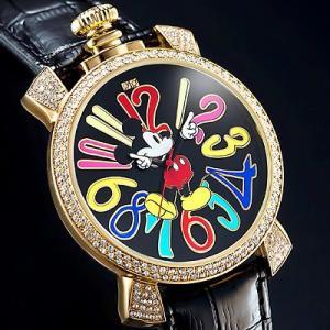 ミッキー ファンタジーカラー腕時計 ブラック|i-healing