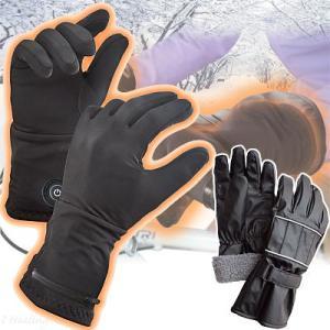 新型ほっかほっか手袋 アウター手袋セット 充電式ヒーターグローブ