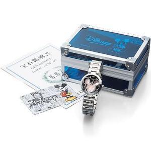 ミッキー85周年記念フェイスウォッチ 天然ダイヤモンド腕時計 ピンク i-healing 02