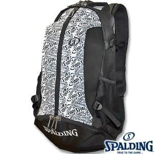 SPALDINGケイジャー クレイジーロゴ バスケットボールバッグ バスケ収納カバン スポルディング40-007CL|i-healing