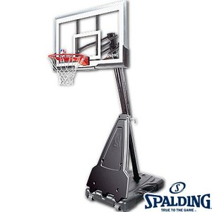 バスケットゴール屋外用 SPALDING54インチ アクリル スポルディング68564CN|i-healing