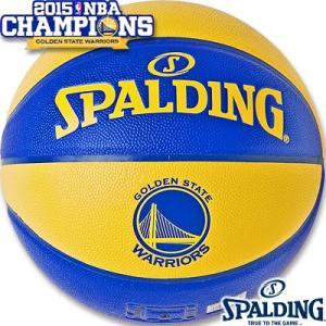 バスケットボール7号 SPALDING NBAゴールデンステイト ウォリアーズ スポルディング74-683J|i-healing