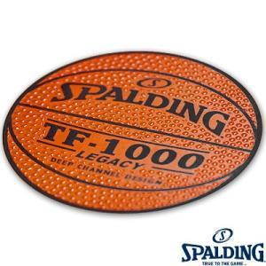 スポルディングバスケットボール シール2枚入 SPALDING14-001|i-healing