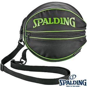 スポルディング ボールバッグ ライムグリーン バスケットボール1個収納 SPALDING49-001LG