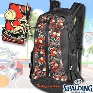 スポルディング ケイジャー バッグスバニー ブラックレッド バスケットボール収納バッグ SPALDING40-007BB|i-healing