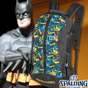 スポルディング ケイジャー バットマン ブラックブルー バスケットボール収納バッグ SPALDING40-007BM|i-healing