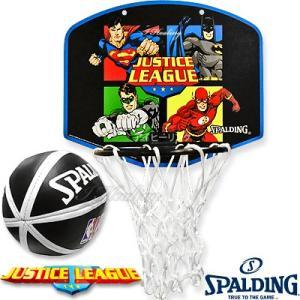 スポルディング ジャスティスリーグ バスケットボール ゴール マイクロミニ バックボードSPALDING5001JUSTICE|i-healing