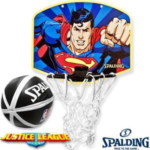 スポルディング ヒーロー スーパーマン バスケットボール ゴール マイクロミニ バックボードSPALDING5001SUPER|i-healing