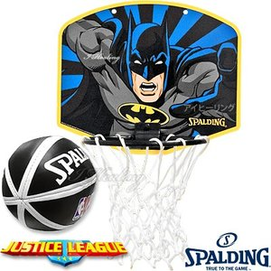 スポルディング 正義の味方バットマン バスケットボール ゴール マイクロミニ バックボードSPALDING5001BAT|i-healing