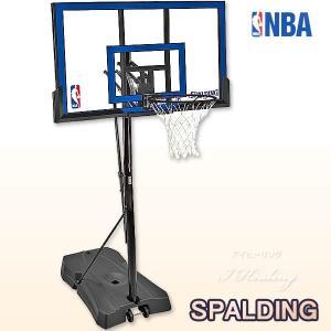 スポルディング ゲームタイム ポリカーボネート 屋外用バスケットゴール バスケットボール SPALDING73655CN i-healing