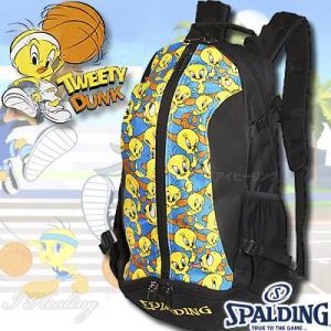 スポルディング ケイジャー トゥイーティー ルーニーテューンズ バスケットボール収納バッグ SPALDING40-007TW|i-healing