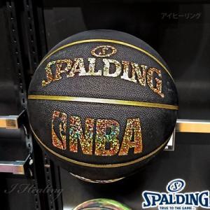 スポルディング バスケットボール7号 キラキラ ホログラム コンポジット ブラックゴールド 合成皮革 SPALDING76-161J|i-healing|03