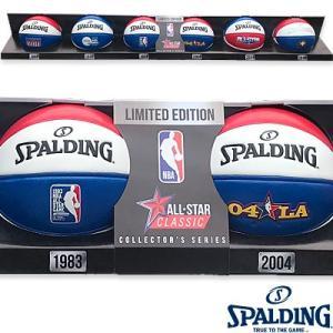 SPALDING 2018 NBAオールスター ミニボール6球セット マネーボール コレクション バスケットボール1.5号 スポルディング65-023Z|i-healing