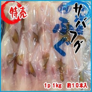 サバ フグ  1p   1kg   約10本入|i-ichiba