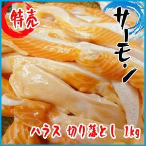 サーモン ハラス 切り落とし 1kg トラウトサーモン|i-ichiba