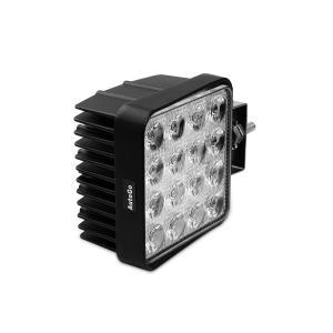 AutoGo LEDワークライト 改善版 CREE製 48W LED作業灯 广角タイプ 角型 16連 10-30VDC対応(12V/24V兼用) 新設|i-labo