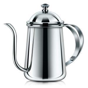 ドリップポット コーヒーケトル SRIWATANA コーヒーポット 細口 650ML ステンレスポットの商品画像|ナビ