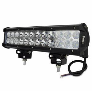 Safego 72W LED 作業灯 24連LED ワークライト 広角 狭角 兼用 一体型 12V 24V兼用 汎用 車外灯 農業機械 ホワイト 60|i-labo