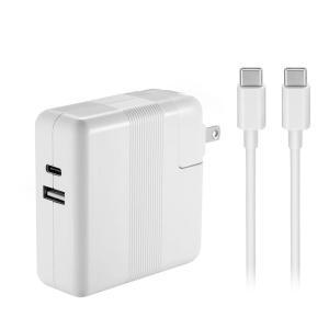 61W USB Type-C充電器は新型Macbook Pro 13インチノートパソコン対応、USB...