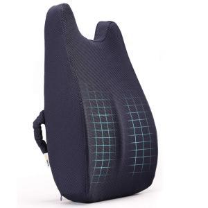 腰痛 クッション 低反発 腰枕 新世代 ランバーサポート 背あて 腰あて 背もたれ 腰サポーター 腰...