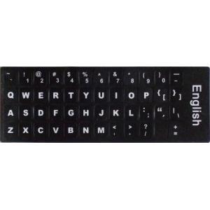 キーボードを英語配列に変換! ラベルマジック 英語キーボードラベル(太字タイプ) MLE-KL-US...