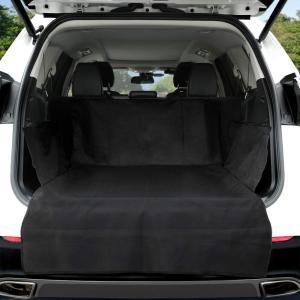 ペット用ドライブシート本体のサイズ:152cm(長さ)×102cm(幅) ほとんどのタイプの車、SU...