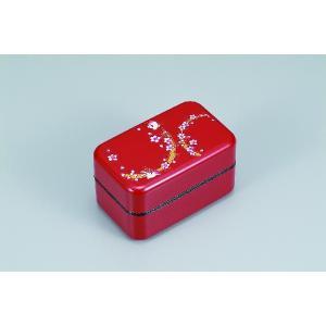 ランチボックス 長角お弁当箱つどいマイ箸セット(赤) i-matsumoto