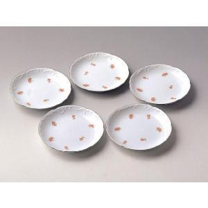 大倉陶園 食器 小花銘々皿5枚組み|i-matsumoto