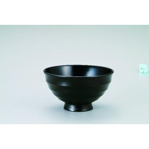 木製4.0飯碗  漆黒 桜 宮常作 i-matsumoto