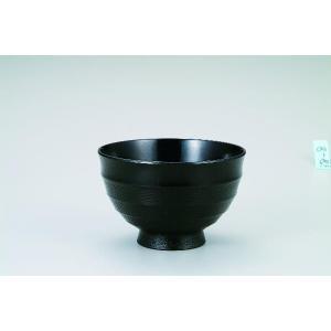 木製3.8汁碗  漆黒 桜 宮常作 i-matsumoto