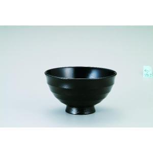 木製4.2飯碗  漆黒 桜 宮常作 i-matsumoto