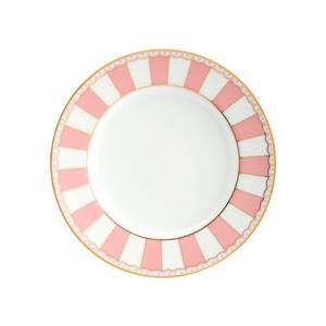 ノリタケ食器 カーニバル 21cmプレート 1枚 ピンク|i-matsumoto