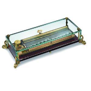 リュージュオルゴール ガラスボックス(イルカ脚)144弁3曲|i-matsumoto