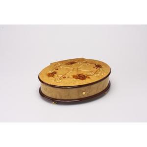 リュージュオルゴール ミルトのこぶ材象嵌入り72弁3曲|i-matsumoto