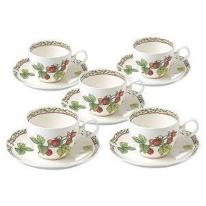 ノリタケ 食器  オーチャードガーデン ティー・コーヒー碗皿5客セット|i-matsumoto