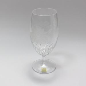 大倉陶園×カガミクリスタル 12カ月グラス 8月ピルスナーグラス 向日葵 i-matsumoto